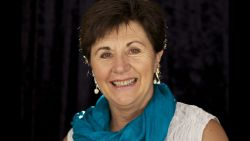 Photo of woman smiling (parenting specialist Maggie Dent)
