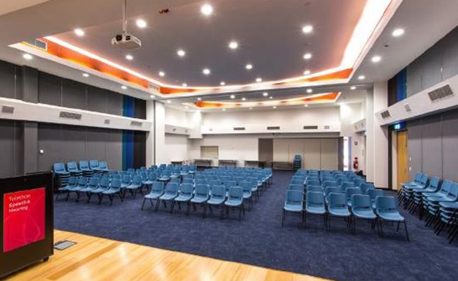Hire our Auditorium for your next event, for more details contact our head of venue hire.