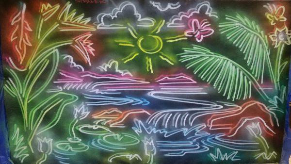 Tropical Island by Drew Straker