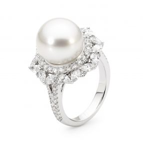 ALLURE SOUTH SEA PEARL AND DIAMOND RING 1ST PRIZE - VALUED AT $14,880