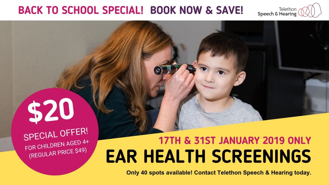 TSH Hearing Screenings Promotion