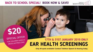 TSH Hearing Screenings Promotion