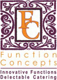 Function Concepts Logo, hire them to cater for your next event.