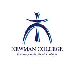 Newman College Crest Emblem Shield