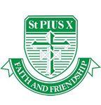 St. Pius X Catholic Primary School Crest Emblem Shield