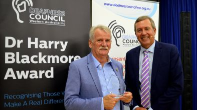 Geoff Reader Dr Harry Blackmore Award