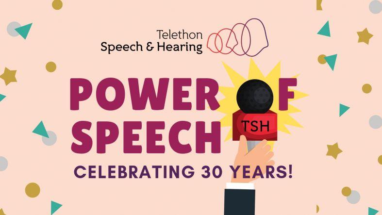Power of Speech 30th Anniversary Header