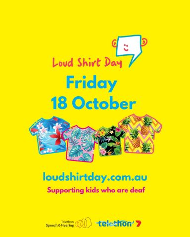 Instagram Post Loud Shirt Day