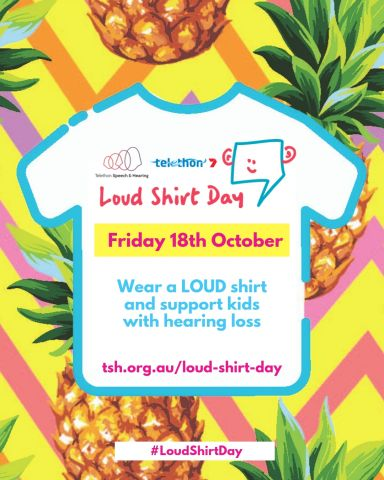 Loud Shirt Day IG Post Action