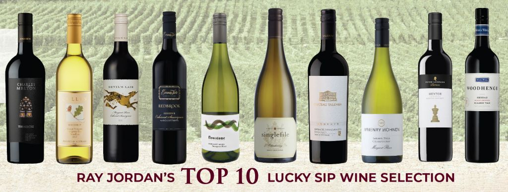 Lucky Sip Ray Jordan Top 10 Lucky Sip Wines for 2019