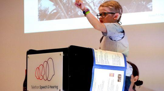 Eamon Doak TSH Outpost Student Power of Speech