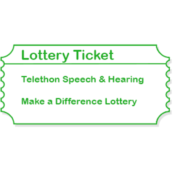 Make a Difference Lottery Ticket Image