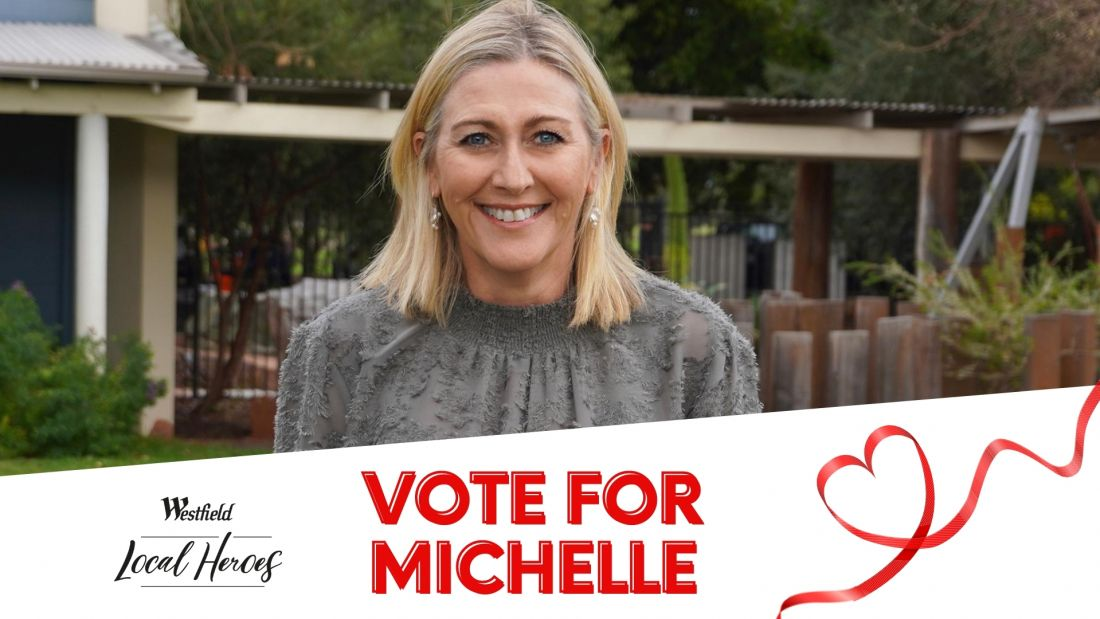 Westfield Local Heroes Michelle Jamieson