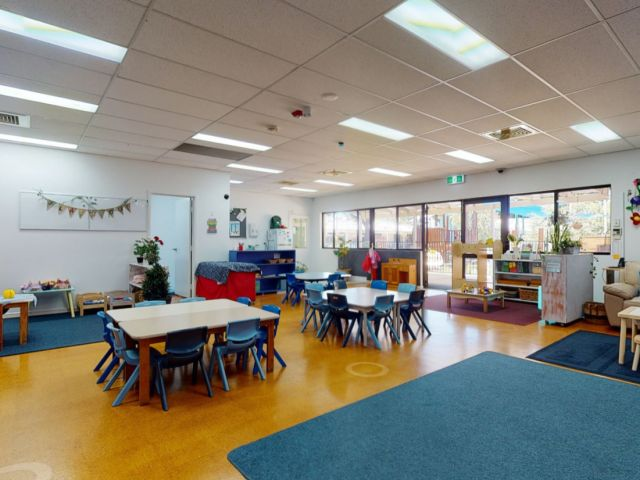 Matterport 360 tour still of Chatterbox Playgroup