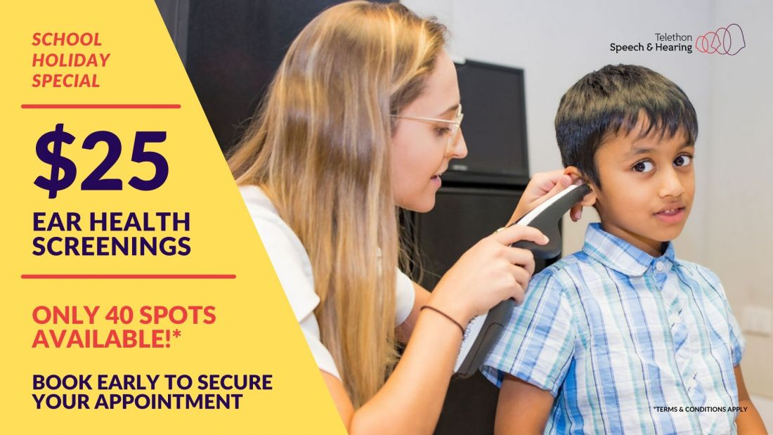 audiology hearing screening special offer