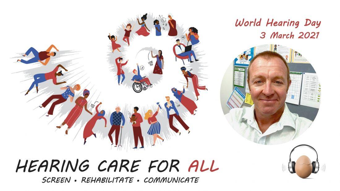 Simon Tomlinson Hearing Awareness Week Staff Profile