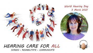 Zita Ferreira Hearing Awareness Week Staff Profile