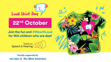 Loud Shirt Day sign up banner