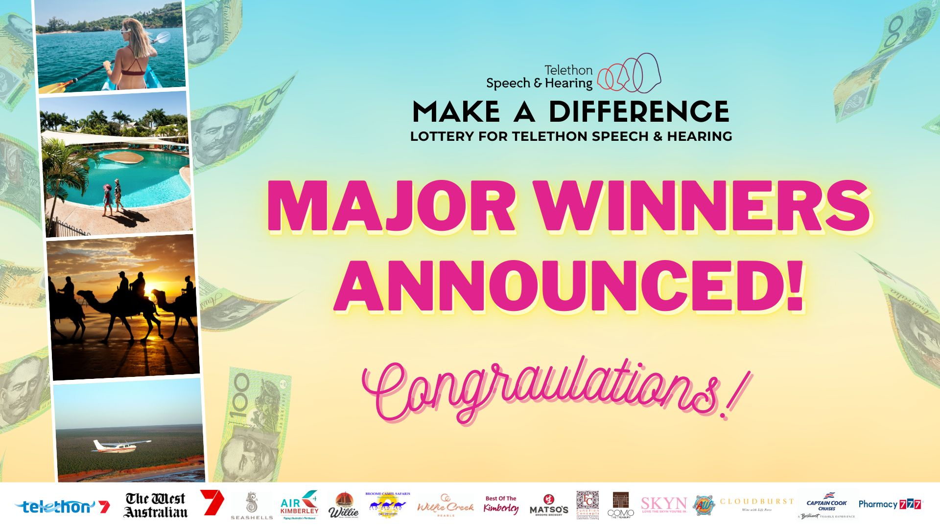 Make a Difference Lottery Winners