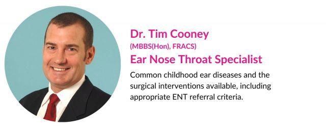 Tim Cooney ENT bio