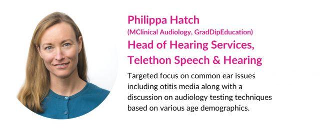 Philippa Hatch Head of Hearing Services Bio