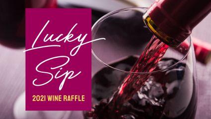 Lucky Sip Wine Raffle 2021 Header