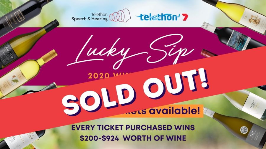 Lucky Sip Wine Raffle 2020